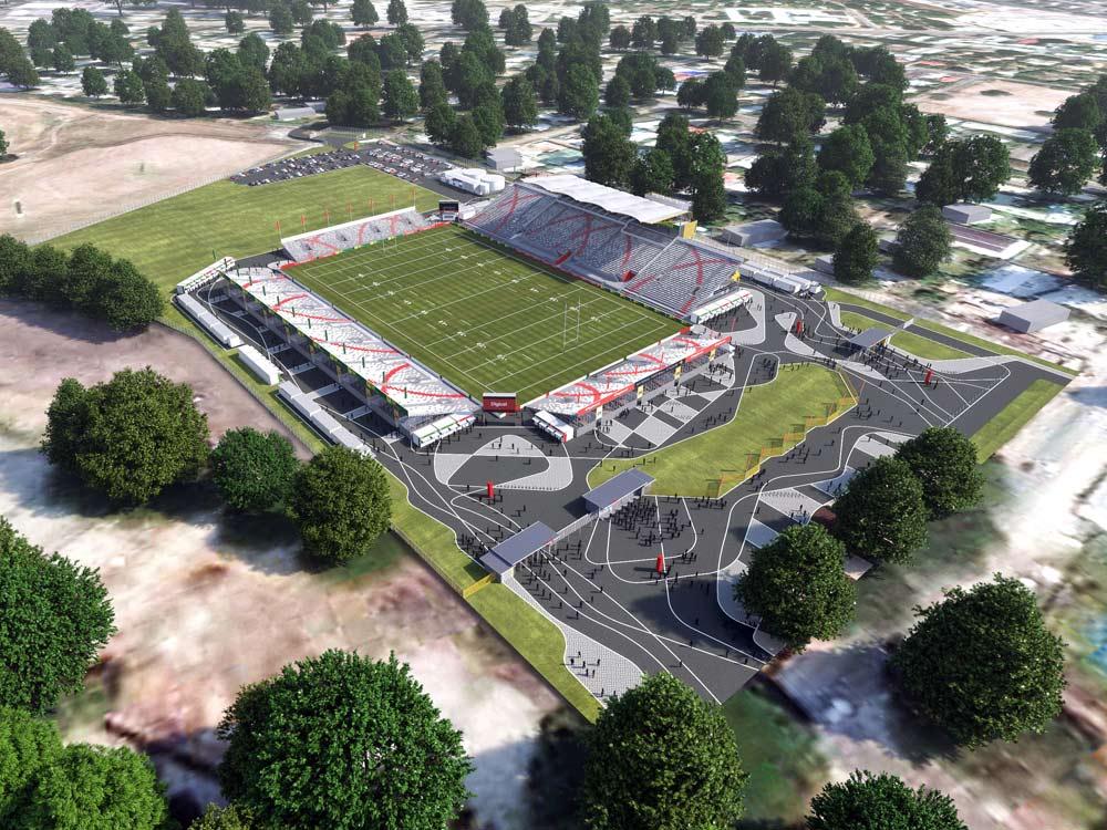 national football stadium PNG